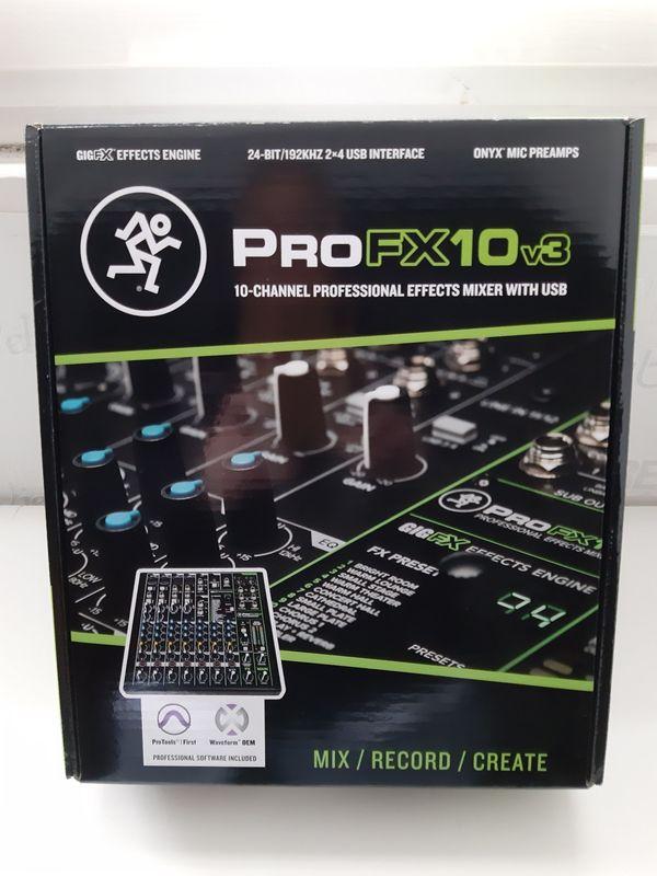 Mackie Mixer ProTools FX 10v3, wie neu