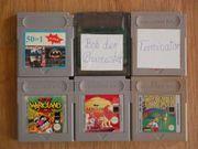 Spiele für Gameboy