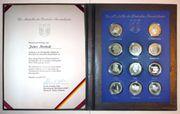 Silbermedaillen 11 Bundesländer 1974