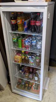 PKM Flaschenkühlschrank Getränkekühlschrank Glastür 248