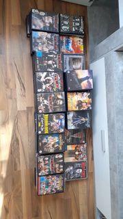 WWE DVD Sammlung abzugeben