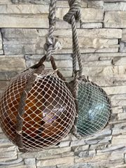 Bootskugeln aus Glas Vintage RARITÄT