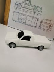 VW Golf 1 Caddy Modell