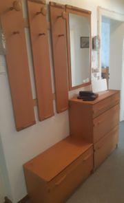 4 teiliges Garderoben Set aus