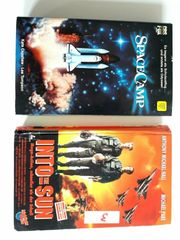 VHS Kassette an 1 --SPACE-CAMP INTO