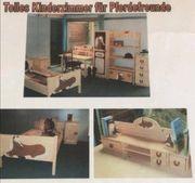 Kinderzimmer aus Massivholz für Pferdefreunde