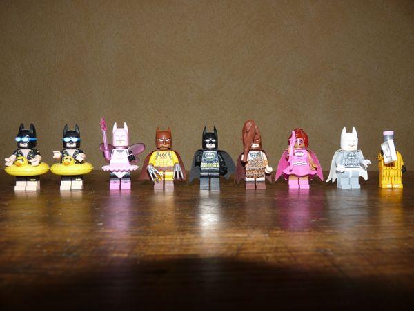 LEGO Batman Sammelfiguren 7 Stück
