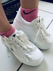 sneakers mit Socken