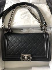 Chanel Tasche Schwarz Bag mit