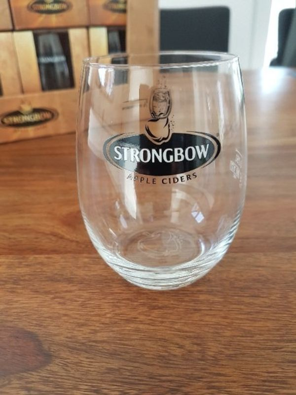 24 Strongbow Apple Ciders Gläser