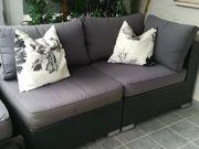 Lounge 2-er Rattansofa Julia