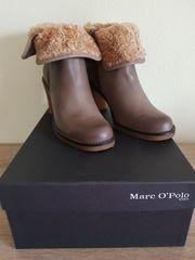 Marco Polo Leder Stiefelette Gr