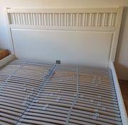 Ikea Doppelbett mit 2 Lattenrosten