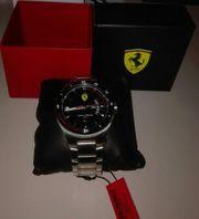 Ferrari Scuderia Uhr wie neu