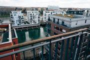 Wohnen im Westhafen mit Blick