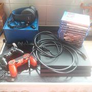 Playstation 4 Pro Kopfhörer Kamera