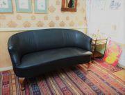 Rund-Sofa - Frankreich ca 1890