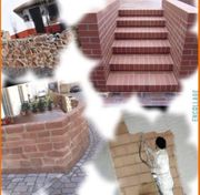 Maurer Pflastern Fliesen Beton Fundament