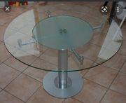 Esstisch rund aus Glas