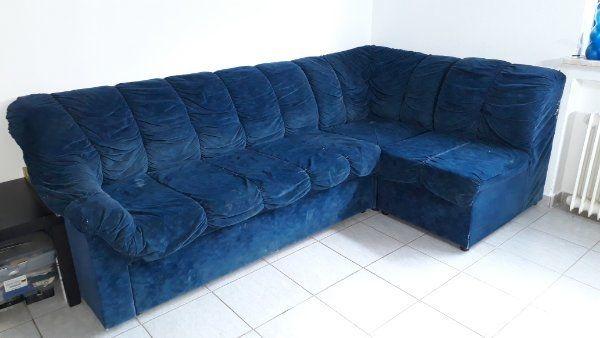 Eck-Sofa mit Schlaf Funktion zu