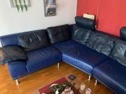 Designer Leder Sitzecke Sofa