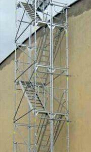 Gerüst Dachdecker Treppen Fassadengerüst Turm