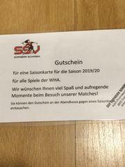 Gutschein Saisonkarte Handball SSV Schoren