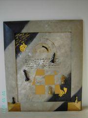 Gemälde - Collage - Coccia Salvatore - Das