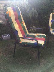3 Gartenstühle Hochlehner komplett mit