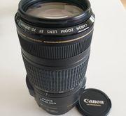 3x Canon Telezoom Objektive inklusive