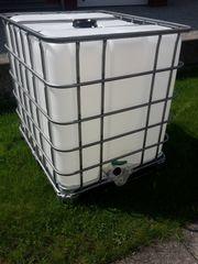 Neuwertigen 1000 liter Wassertank Original