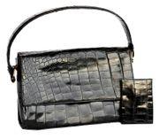 Vintage Handtasche 50er Jahre schwarz