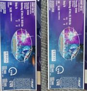 2 Disney on ice Tickets