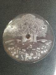 Walther Glas Kristallglas Tortenplatte mit