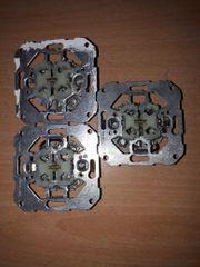 1 GIRA Wippschalter Serienschalter Doppel-Licht