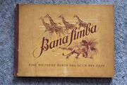 Rarität Sammelalbum Bana Simba 1952