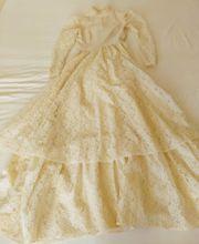 wunderschönes Abendkleid Ballkleid Brautkleid Champagner