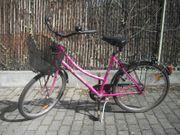 Damen Fahrrad Rosa