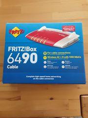 Fritzbox 6490 für Kabelanschluss