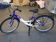 Fahrrad 24 Zoll Mädchen in Lila
