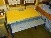Moll Kinderschreibtisch mitwachsend neigbare Tischplatte