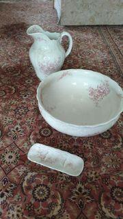Waschtisch Garnitur 3-teilig original neuwertig