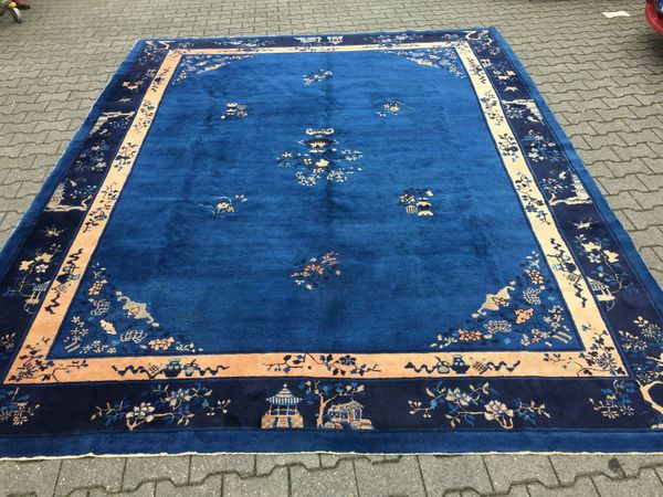 Antiker China Teppich Peking ca