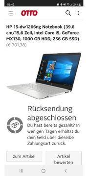 HP laptop 15dw 1266ng