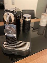 DeLonghi Nespresso Kaffeemaschine mit Milchaufschäumer