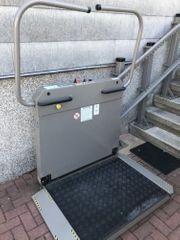 Treppenlift für Außen von SANA-Treppenlifte