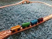 Kinder - Holzeisenbahn Starterset Brio