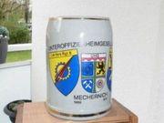 Bundeswehr Bierkrug Versorgungsregiment 8 Mechernich