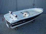 Motorboot Angelboot Neuboot