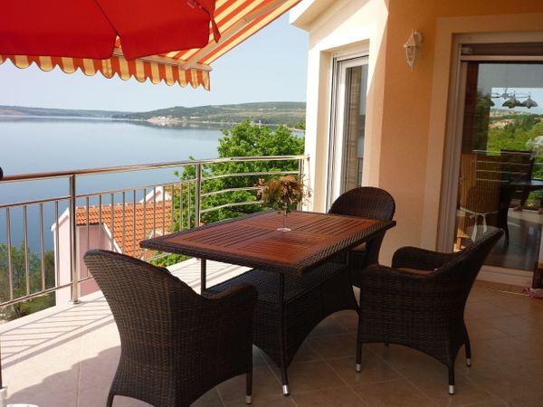 Kroatien Maslenica Luxusvilla am Meer
